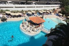 Rey Carlos piscina